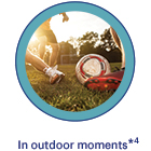 In outdoor moments*4