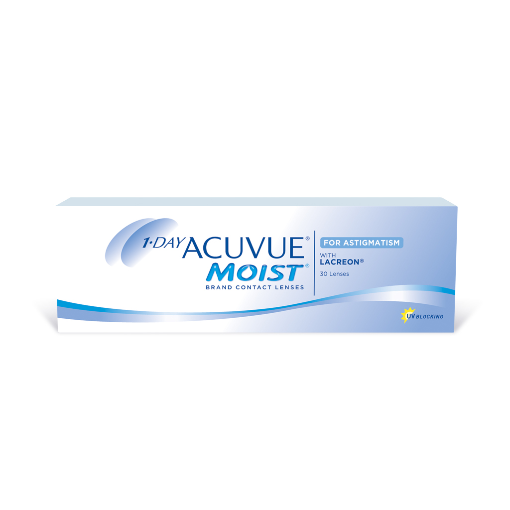 1 Day Acuvue Moist Contact Lenses For Astigmatism Johnson