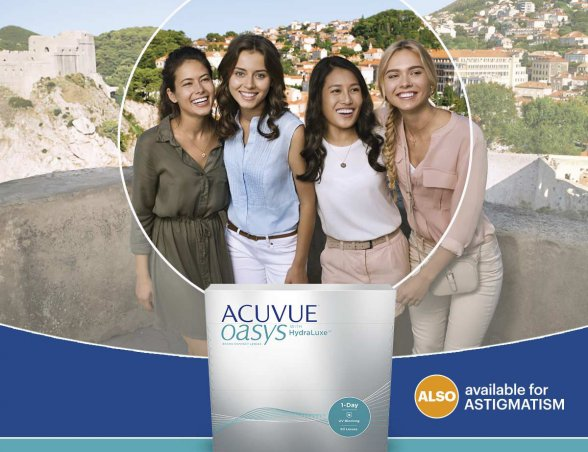 ACUVUE OASYS® 1-Day Brand Contact Lenses