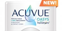 ACUVUE® OASYS with TransitionsTM Light Intelligent TechnologyTM