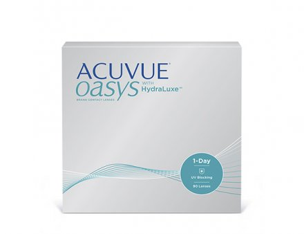 ACUVUE OASYS 1 Day with HydraLuxe Technology