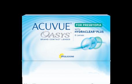 ACUVUE OASYS® 2-Week for PRESBYOPIA