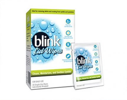 Blink Eye Lid Wipes