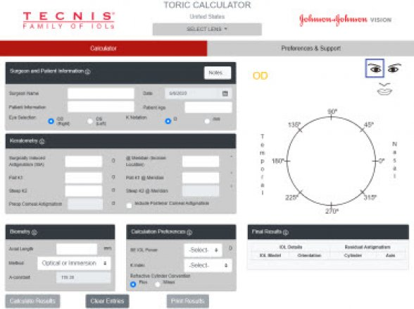 Toric Calculator