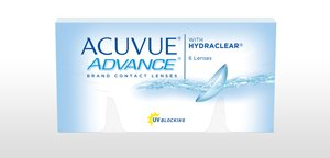 ACUVUE® ADVANCE® Brand with HYDRACLEAR®
